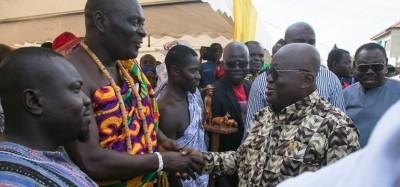 Ghana: Akufo-Addo appelle pour sa réélection en 2020