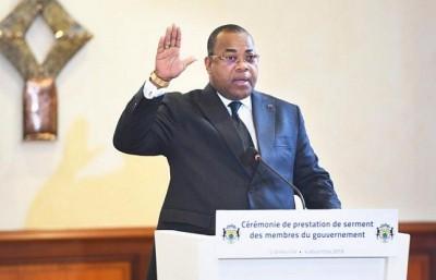 Gabon: Prestation de serment des membres du Gouvernement