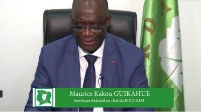 Côte d'Ivoire: « Caution de 100 millions à la Présidentielle », Guikahué : « Même à un milliard,  le PDCI n'a aucun problème, mais... »