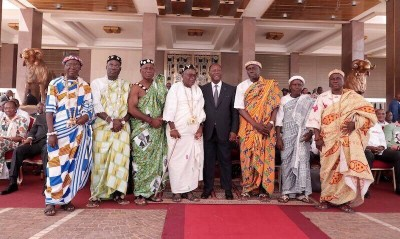 Côte d'Ivoire :  Yamoussoukro, des chefs baoulé réitèrent leur soutien à Ouattara et lui demandent l'autorisation de rencontrer Bédié à Daoukro pour ramener la Paix