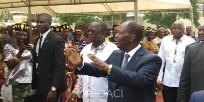 Côte d'Ivoire :  Yamoussoukro, hommage du RHDP à Houphouët, Ahoussou à propos de Bédié: «Aujourd'hui son absence nous donne à tous un léger froid»