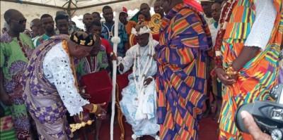 Côte d'Ivoire: Intronisé en décembre 2018, Nanan Djombo Valentin nouveau chef du vill...