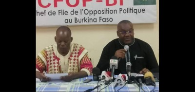 Burkina Faso: Pour l'opposition « c'est l'échec lamentable » du pouvoir  face au terr...