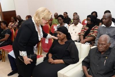 Côte d'Ivoire: Décès du Président Charles Koffi Diby, le couple Présidentiel au chevet de la famille éplorée