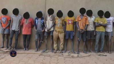Burkina Faso: Trois réseaux d'une quinzaine de malfrats démantelés par la police