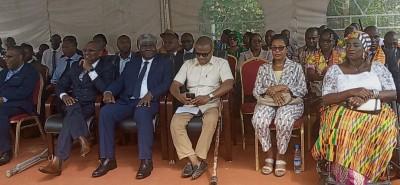 Cote d'Ivoire: Depuis le Plateau, le Gouverneur Beugré Mambé, devant les handicapés «...