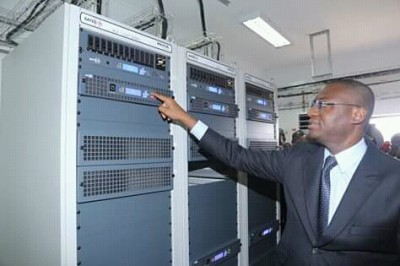 Côte d'Ivoire: Depuis Bouaké, Sidi Touré met en service la TNT