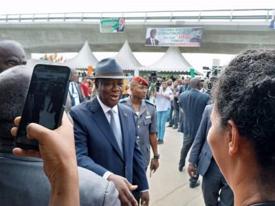 Côte d'Ivoire:  Inauguration de l'échangeur de l'amitié ivoiro-japonaise, Ouattara pr...