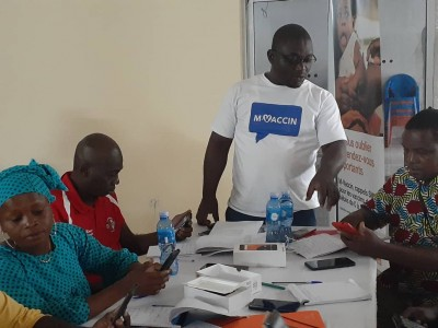 Côte d'Ivoire: Coup d'envoi de la phase pilote du programme M-Vaccin à l'ouest du pays