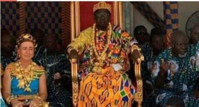Côte d'Ivoire: Bonoua, le 22ème roi des Abouré Ehivè intronisé
