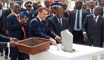 Côte d'Ivoire: Bouaké, Macron et Ouattara posent la première pierre du plus grand marché couvert d'Afrique de l'ouest