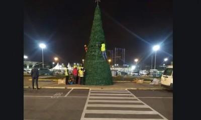 Kenya: L'aéroport de Nairobi fait parler de lui à travers son arbre de noël