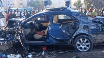 Sénégal: 3 morts et plusieurs blessés dans un accident à Dakar suite à un carambolage