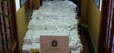 Togo: Saisie de 4,4 tonnes de cocaïne en Uruguay à destination du PAL à Lomé