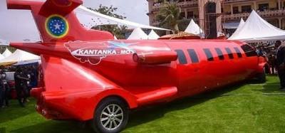 Ghana: La société Kantanka dévoile une voiture de luxe « mini-avion »