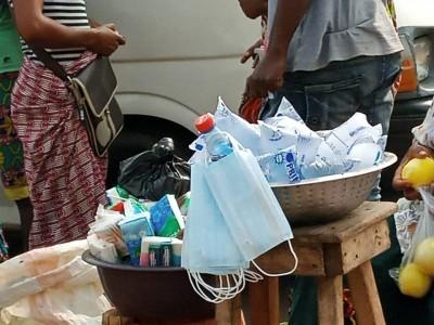 Côte d'Ivoire:  Abidjan couvert par l'harmattan, le «cahe-nez » vendu dans des conditions hygiéniques déplorables à tous coins de rues