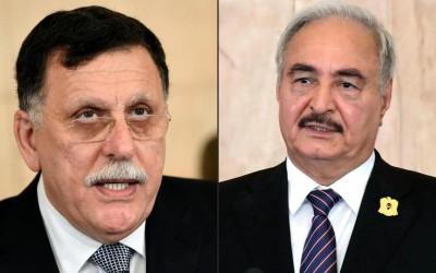 Libye: Rencontre à Moscou entre  Haftar et al-Sarraj pour signer les modalités du ces...