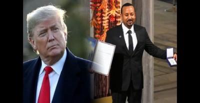 Ethiopie: Donald Trump s'attribue le mérite du prix Nobel,  la réponse d'Aby Ahmed