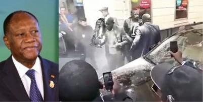 Sénégal-Côte d'Ivoire: L'activiste qui avait enfariné Macky Sall à Paris menace Alassane Ouattara
