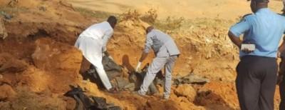 Côte d'Ivoire :   Man, le Gouvernement dénombre 20 corps dans la fosse commune découverte à proximités de la clôture du Lycée moderne