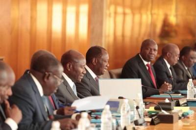 Côte d'Ivoire:  Communiqué du conseil des ministres du mercredi 15 janvier 2020