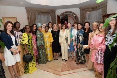 Côte d'Ivoire: Vœux de nouvel an, les femmes présentent leurs vœux à la Première Dame