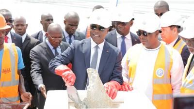 Côte d'Ivoire: Port d'Abidjan, livraison du 2ème  terminal à conteneurs et pose de la pierre du terminal céréaliers d'un montant de 58 milliards de FCFA