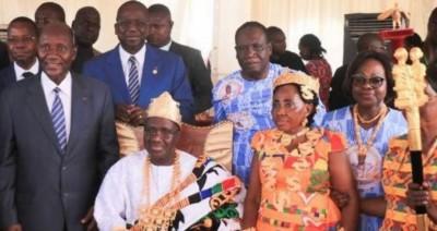 Côte d'Ivoire:  Moronou,  malgré l'opposition  du roi sortant, Nanan Ehora Tehoua intronisé