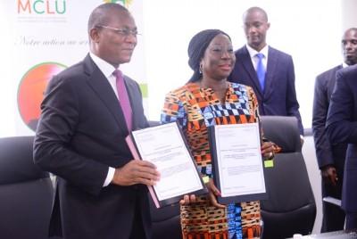 Côte d'Ivoire: Signature de la convention pour le Projet immobilier des enseignants,...