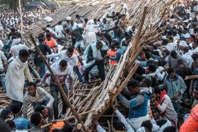 Ethiopie: 10 morts au moins dans l'effondrement d'une plateforme lors d'une fête religieuse