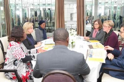 Côte d'Ivoire: En marge du sommet Royaume-Uni-Afrique, la Première Dame Dominique Ouattara présente les actions de la Côte d'Ivoire dans la lutte contre le travail des enfants