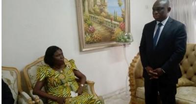 Côte d'Ivoire: Recevant KKB, Simone Gbagbo : « Il faut qu'on récupère ensemble l'âme de notre Nation »