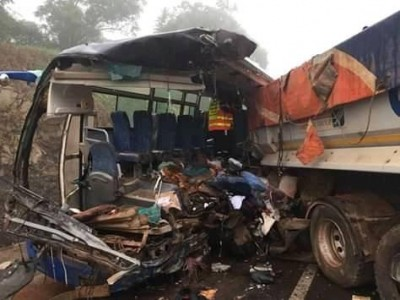 Côte d'Ivoire: Grave accident sur l'autoroute du nord, au moins 14 morts et des blessés graves