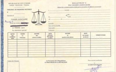 Côte d'Ivoire: Délivrance du casier judiciaire, certification de nationalité, le Gouvernement rappelle les prix homologués