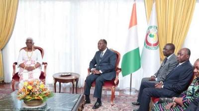 Côte d'Ivoire :  Ouattara présente demain ses vœux aux acteurs de la presse et se rend samedi à Sakassou pour une visite à la reine