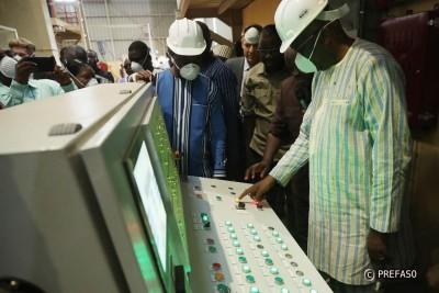 Burkina Faso: Le président du Faso inaugure une usine d'égrenage de coton biologique à Koudougou
