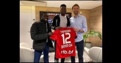 Burkina Faso: Edmond Tapsoba officiellement signe au Bayer Leverkusen