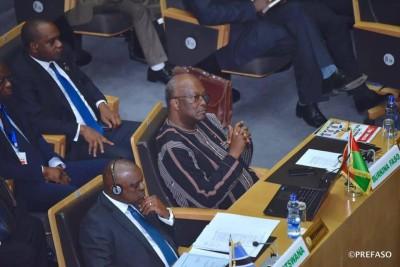 Burkina Faso : Le président Kaboré à Addis-Abeba pour la 33e session de l'Union africaine