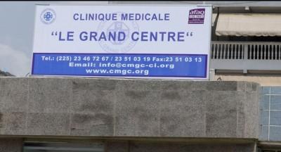 Côte d'Ivoire: Un mois après sa fermeture, la Clinique Le Grand Centre a rouvert  ses portes