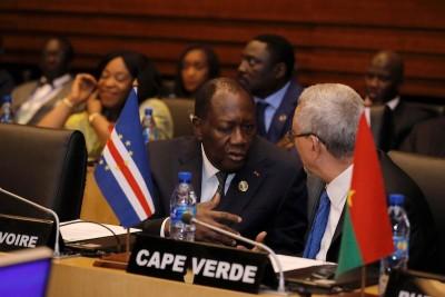 Côte d'Ivoire : En marge du 33ème sommet de l'UA, Alassane Ouattara échange avec l'ONUSIDA, le Conseil Européen et les USA