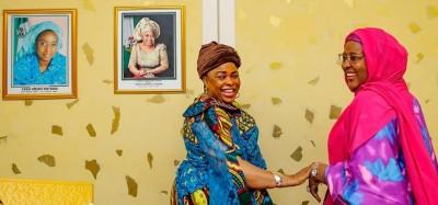 Nigeria : Rapprochement entre dames Jonathan et Buhari