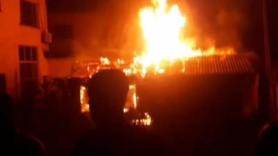 Nigeria : Incendie dans la maison d'Obasanjo à Abeokuta