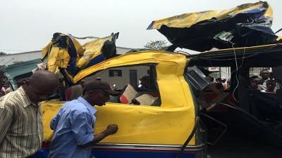RDC : Un grave accident de la route fait 14 morts et plus de 40 blessés à Kinshasa