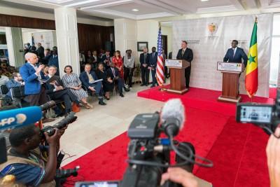 Sénégal : À Dakar, Mike Pompeo reste prudent sur la présence américaine en Afrique