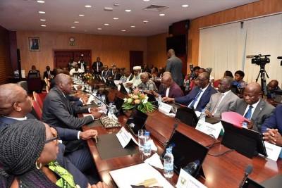 Côte d'Ivoire :  Dialogue politique, l'opposition et le gouvernement se séparent en queue de poisson, la signature du document n'a pas eu lieu