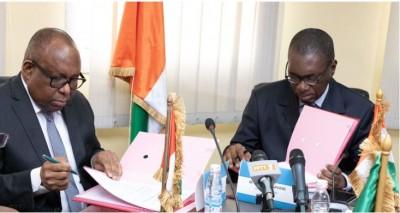 Côte d'Ivoire: HACA, le nouveau président Me René Bourgoin a pris fonction et place sa mission sous le sceau de la continuité