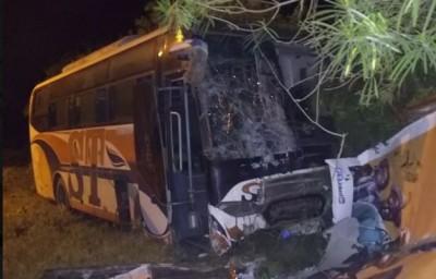 Côte d'Ivoire : Drame, à Divo, grave collision entre un car et un camion de transport, des morts et des blessés dénombrés