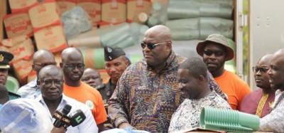 Ghana-Togo : Vérité sur les vivres convoyés d'Accra à Lomé, pas pour un candidat à la présidentielle