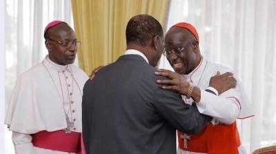 Côte d'Ivoire : Rencontre Ouattara-Conférence des Evêques: « la réconciliation de tou...
