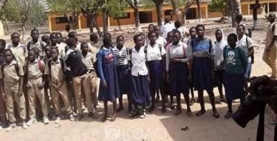 Côte d'Ivoire : Ferké, des individus mettent  le feu à un collège, 500 élèves dans la rue